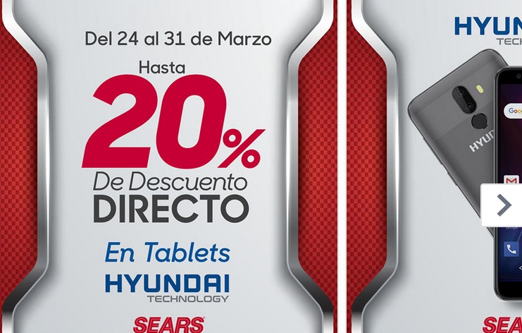 Sears Oferta Tablets Hyundai