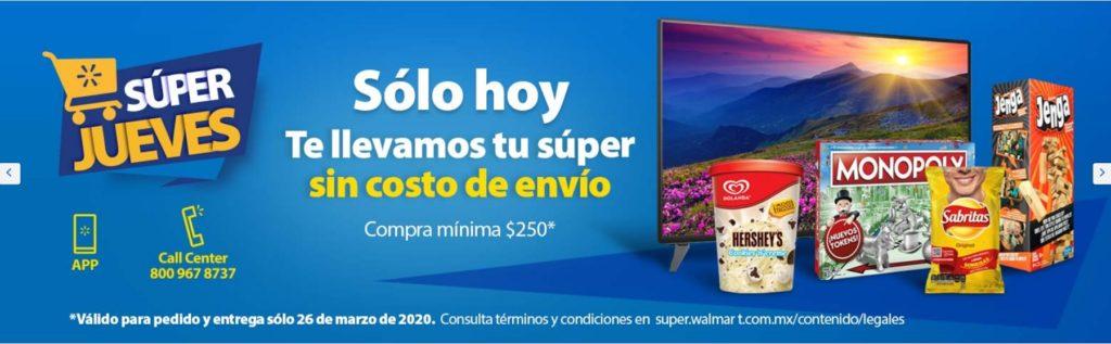 Walmart Promoción Envío Gratis
