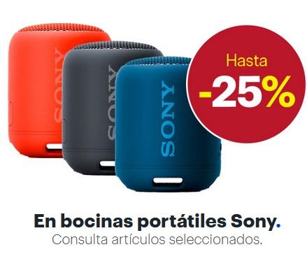 Best Buy Oferta Bocinas Portatiles Sony