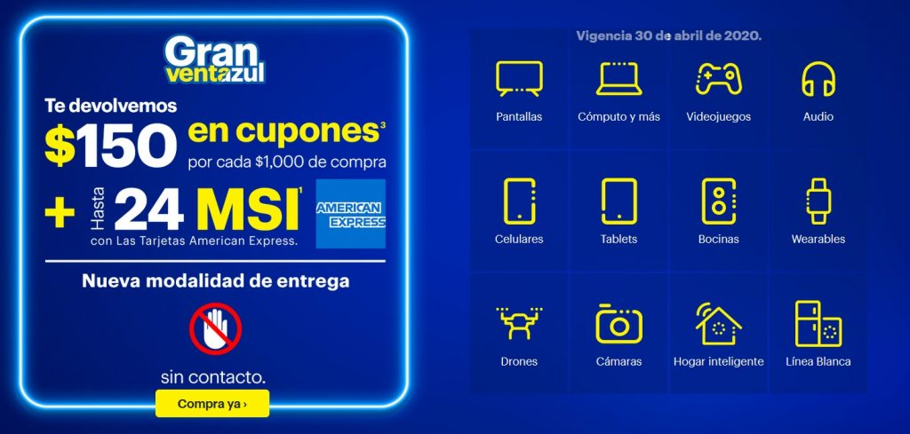 Best Buy Promoción American Express