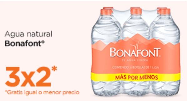 Chedraui Oferta Agua Bonafont