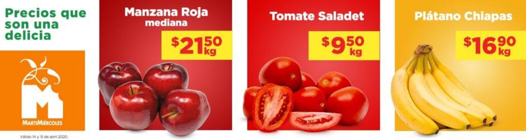 Chedraui Oferta Frutas y Verduras Abril 14