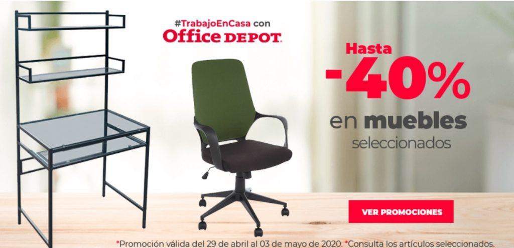 Office Depot Oferta Muebles Seleccionados