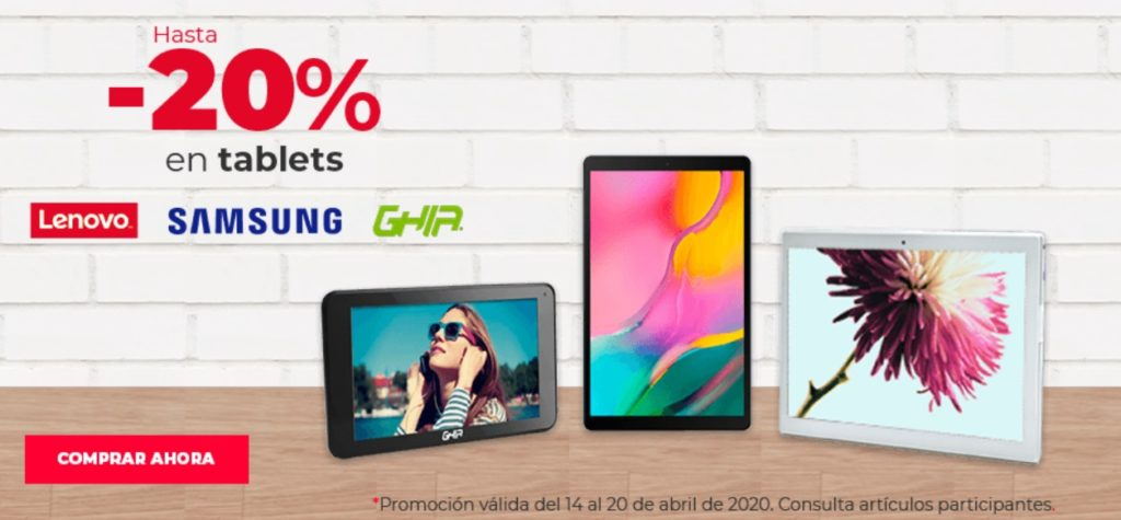 Office Depot Oferta Tablets Seleccionadas
