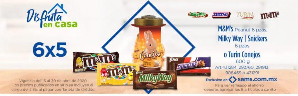 Sam's Club Oferta Chocolates Seleccionados