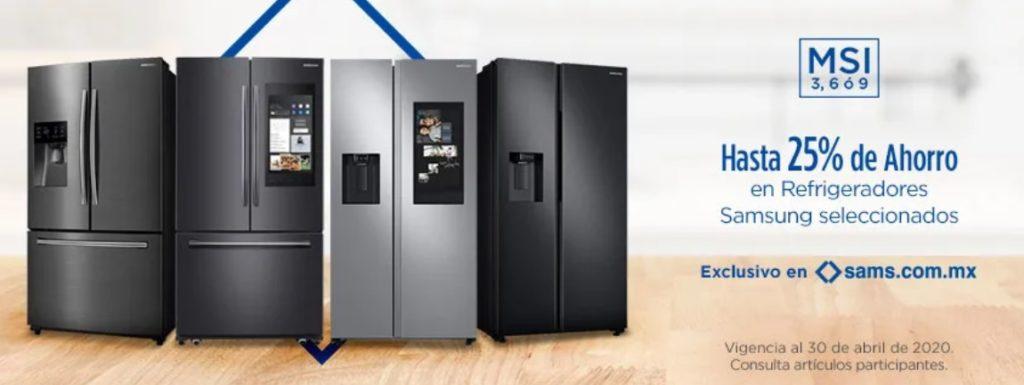 Sam's Club Oferta Refrigeradores Samsung