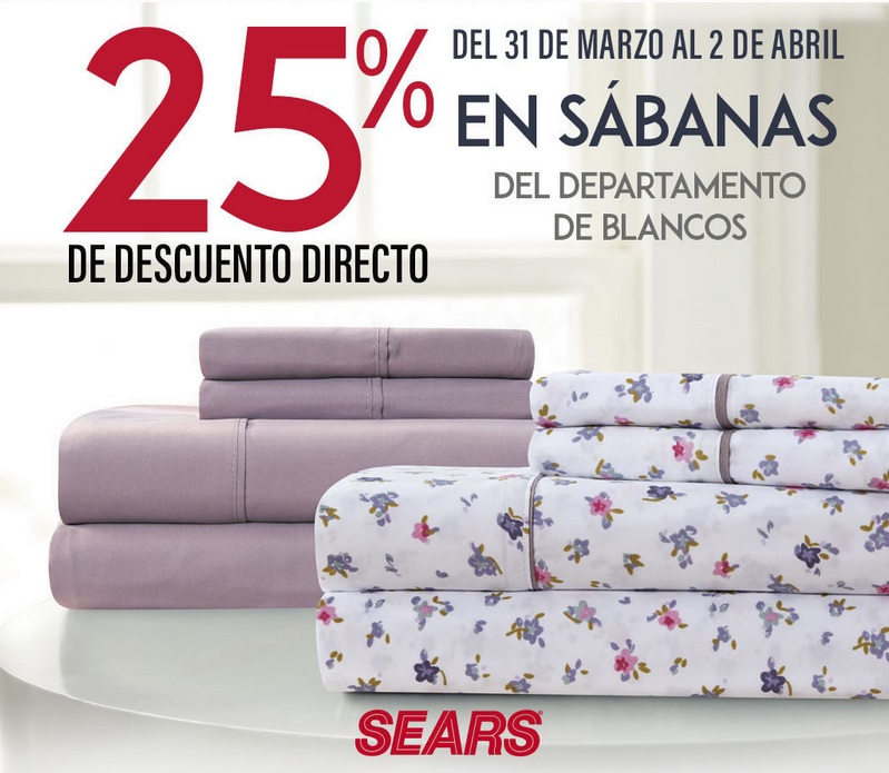 Sears Oferta Sabanas