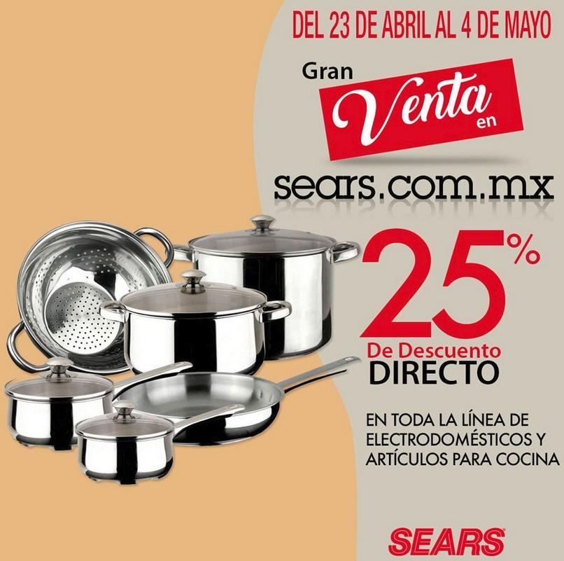 Sears Oferta Electrodomésticos y Artículos de Cocina