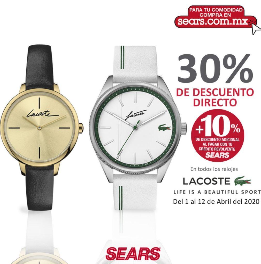 Sears Oferta Relojes Lacoste