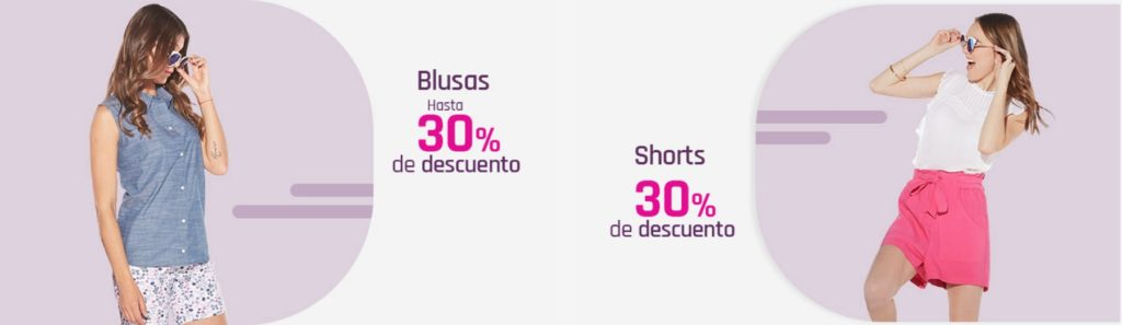 Suburbia Oferta Blusas y Shorts