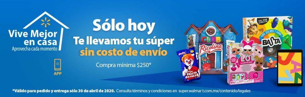 Walmart Súper Envío Gratis
