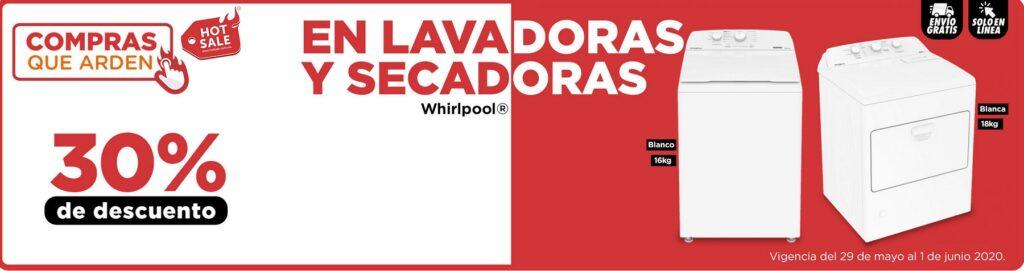 Chedraui Oferta Lavadoras y Secadoras Whirlpool