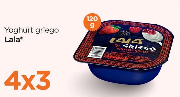 Chedraui Oferta Yoghurt Griego Lala