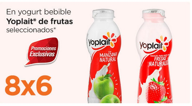 Chedraui Oferta Yogurt Bebible Yoplait