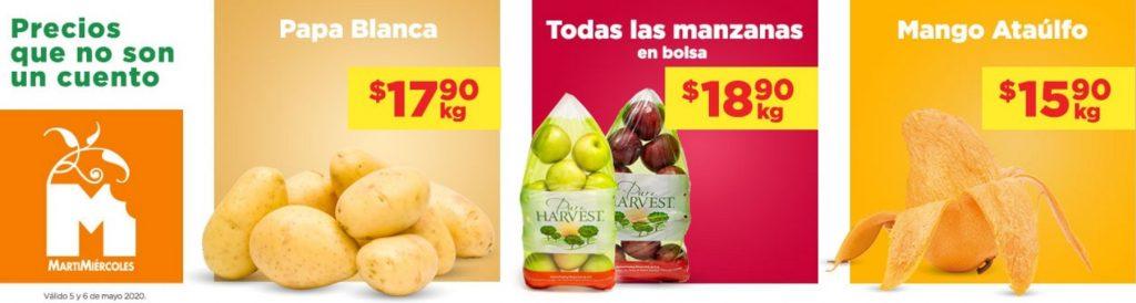 Chedraui Ofertas Frutas y Verduras Mayo 5