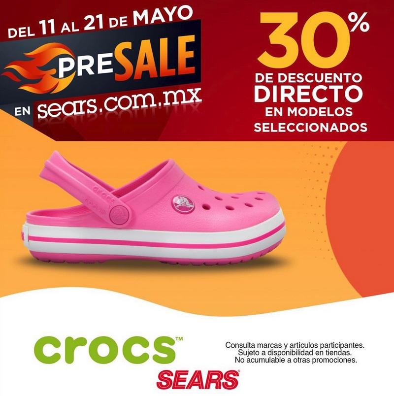 Sears Oferta Crocs