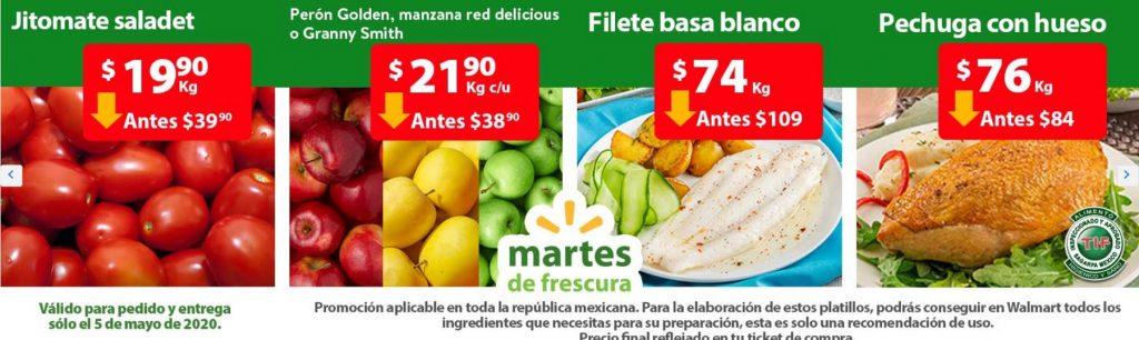 Walmart Ofertas Martes de Frescura Mayo 5