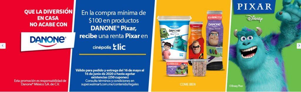 Walmart Promoción Renta Pixar