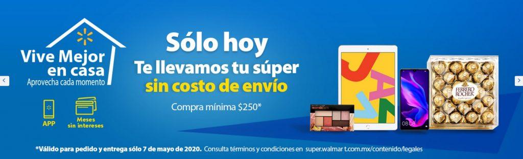 Walmart Súper Promoción Envío Gratis