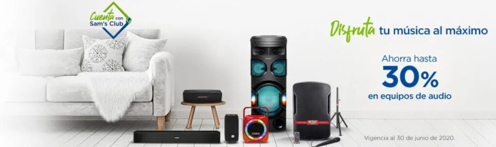 Sam's Club Oferta Equipos de Audio