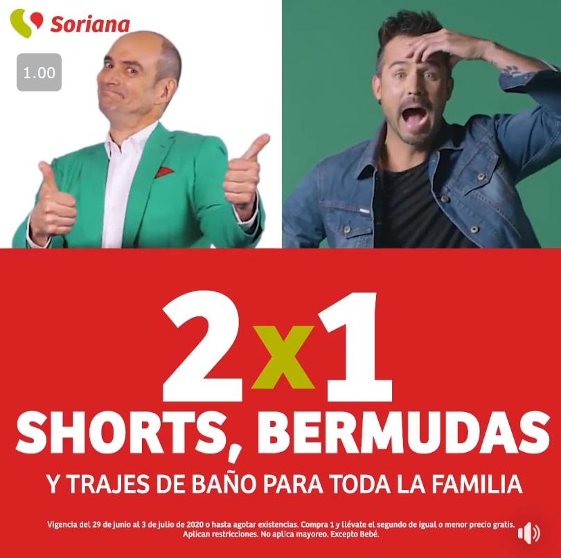 Soriana Oferta Shorts, Bermudas y Trajes de Baño