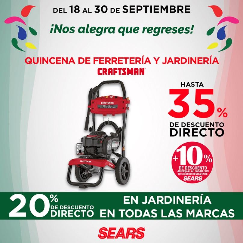 Sears Oferta Ferretería y Jardinería Craftsman
