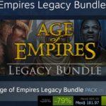 Steam Oferta Age of Empires