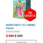 Gamers Oferta Mario Party