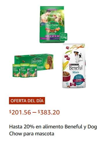 Amazon Oferta Beneful y Dog Chow