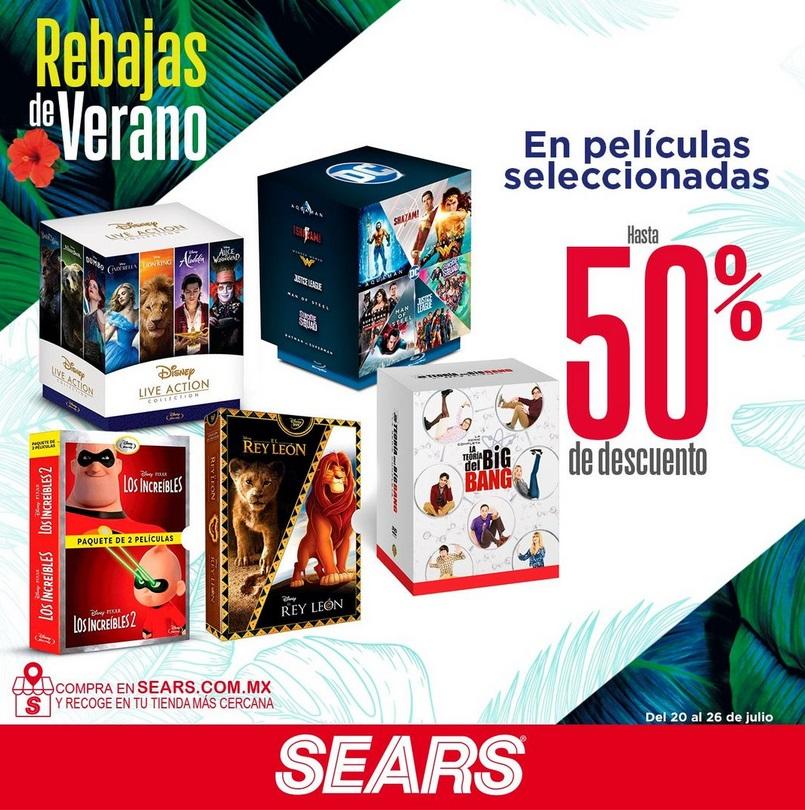Sears Oferta Películas Seleccionadas